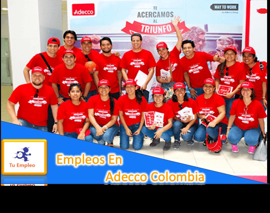 Empleos en Adecco Colombia