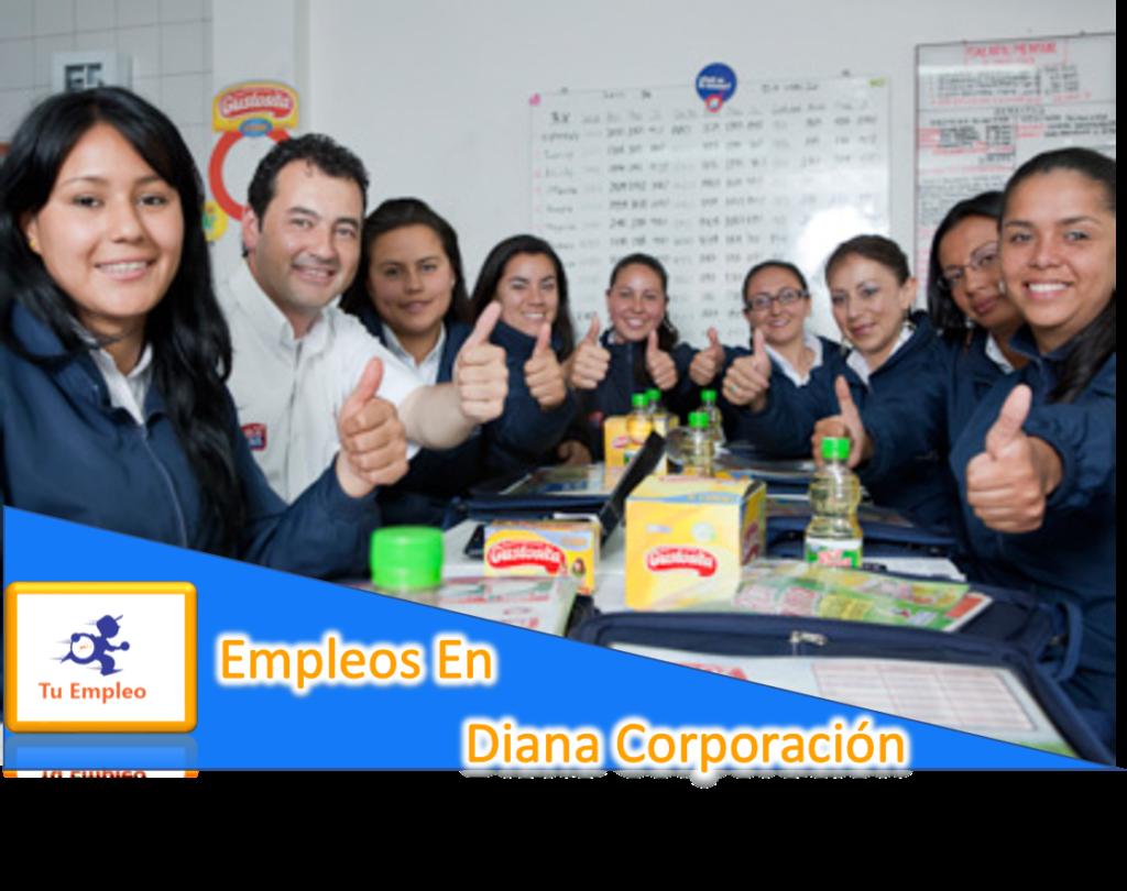 ¿Como Aplicar A Los Empleos De Diana Corporación?
