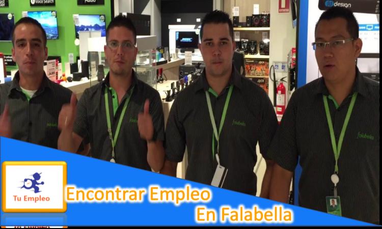 ¿Como Encontrar Un Empleo En Falabella?
