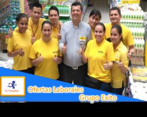 Ofertas Laborales Grupo Éxito En Todo El País